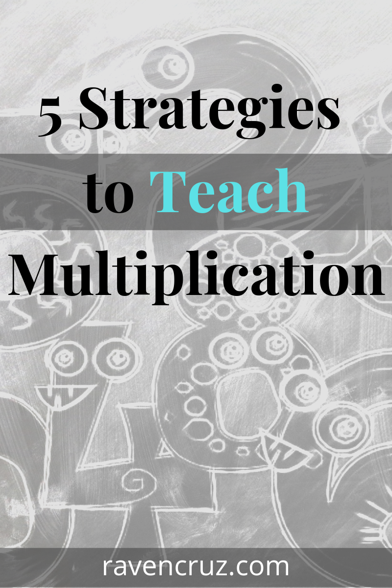 Use these 5 strategies to teach your students grouping, arrays, repeated addition, number lines, and skip counting.