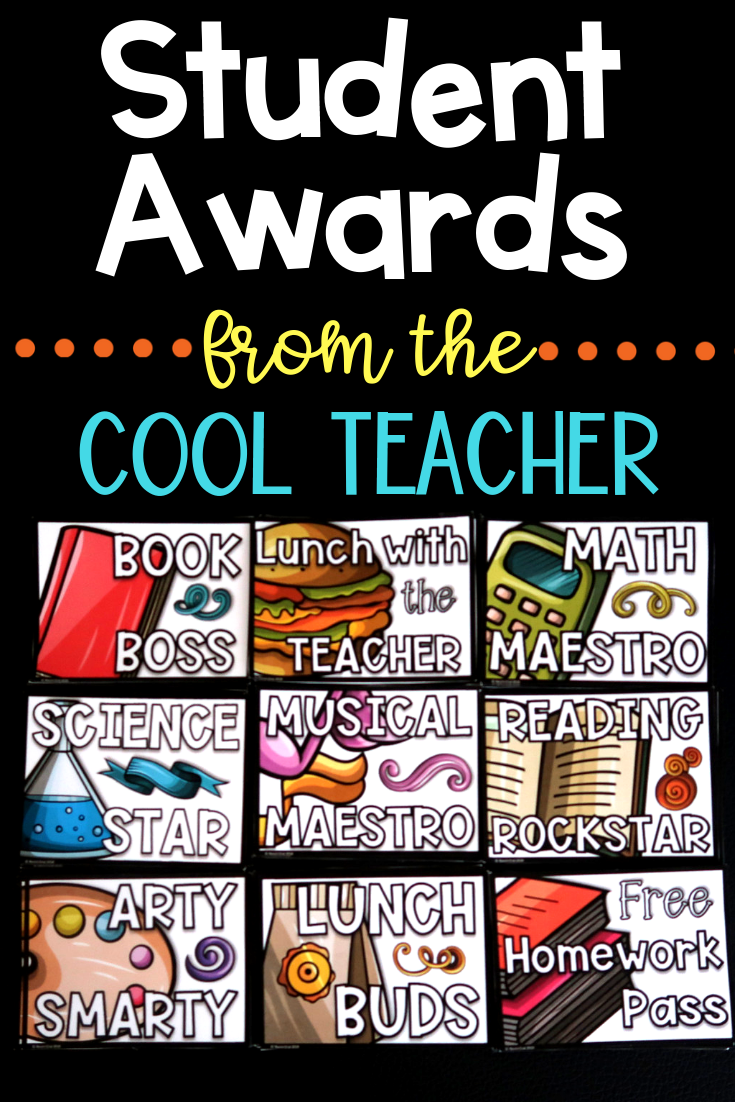 Student awards for the thrifty teacher. Save money on these student awards.