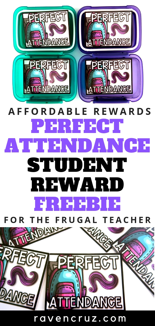 These free perfect attendance awards for the end-of-the-year will be a big hit with your students.