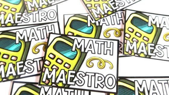 Cheap student reward tickets for frugal math teachers.