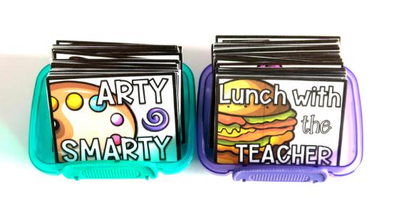 Cheap student reward tickets for frugal teachers.